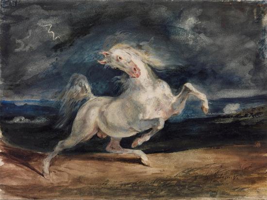 eugene-delacroix-horse-frightened-by-lightning