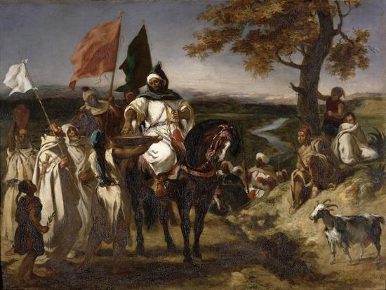 eugene-delacroix-moroccan-caid-1837