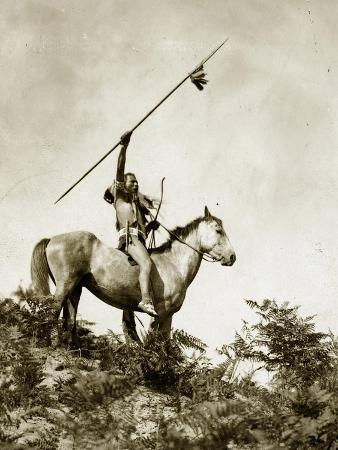 eugene-everett-lavalleur-and-l-v-mcwhorter-the-challenge-yakama-warrior-on-horseback-1911