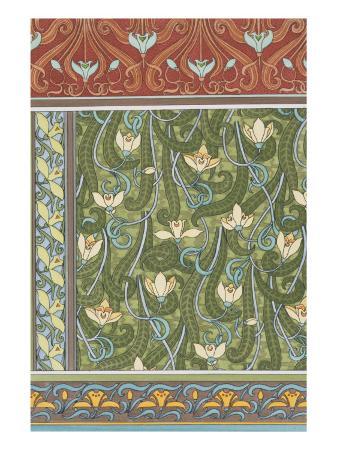 eugene-grasset-snowdrops-wallpaper-chromo-lithograph-england-london-1897