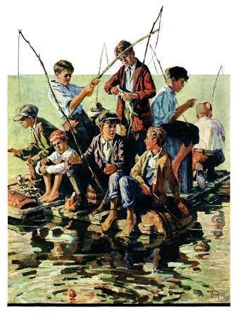 eugene-iverd-raft-fishing-july-30-1927