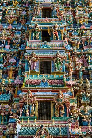 exquisitely-detailed-carvings-on-the-gopuram-tower-of-the-durga-devi-temple-in-vidyaranyapura