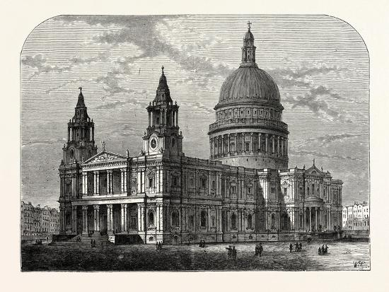 exterior-of-st-paul-s-cathedral-from-the-south-west-1800-london
