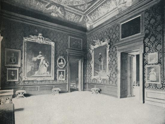 eyre-spottiswoode-queen-carolines-drawing-room-at-kensington-palace-c1899-1901