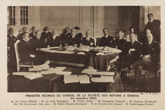 f-h-jullien-war-campaign-1917-1920-meeting-of-the-council-of-the-league-of-nations-in-geneva