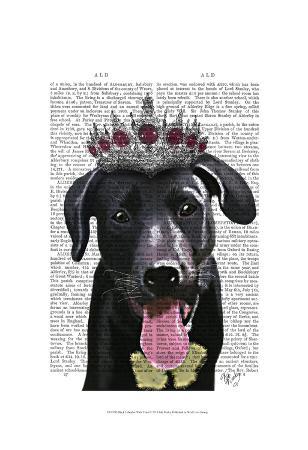 fab-funky-black-labrador-with-tiara