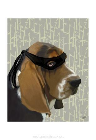 fab-funky-ninja-basset-hound-dog