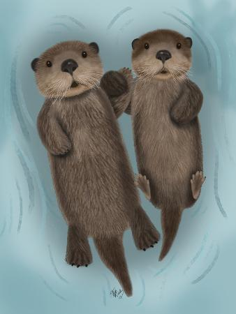fab-funky-otters-holding-hands