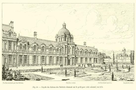facade-du-chateau-des-tuileries-donnant-sur-le-petit-parc-cote-oriental-en-1575
