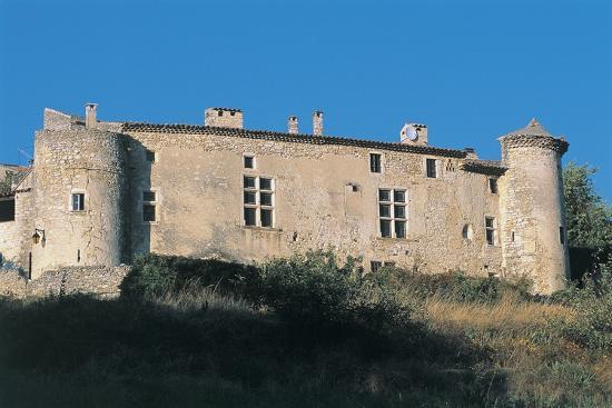 facade-of-a-castle-le-poet-laval-castle-rhone-alpes-france