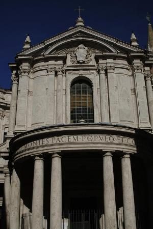facade-of-church-of-our-lady-of-peace-rome