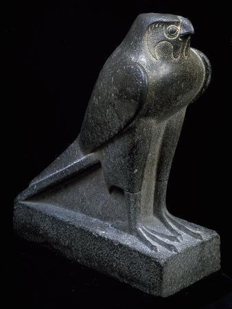 falcon-granite-statue