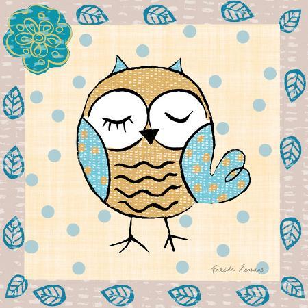 farida-zaman-whimsy-owls-iv