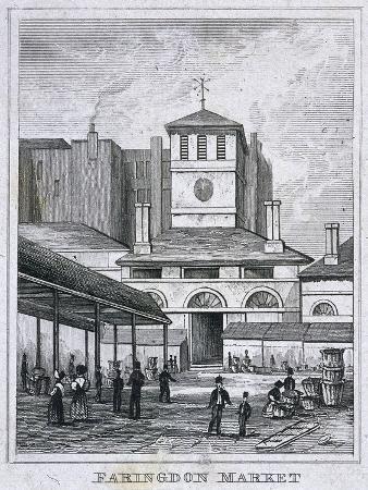 farringdon-market-london-c1830