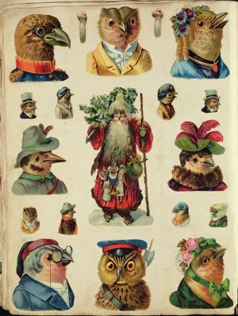 father-christmas-surrounded-by-birds-collage