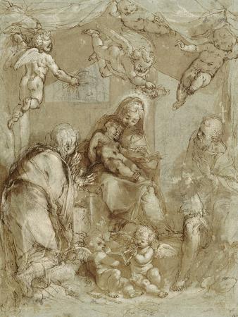 federico-barocci-la-sainte-famille-servie-par-les-anges