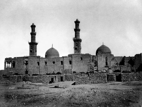 felix-bonfils-sultan-barquq-mosque-cairo-egypt-1878