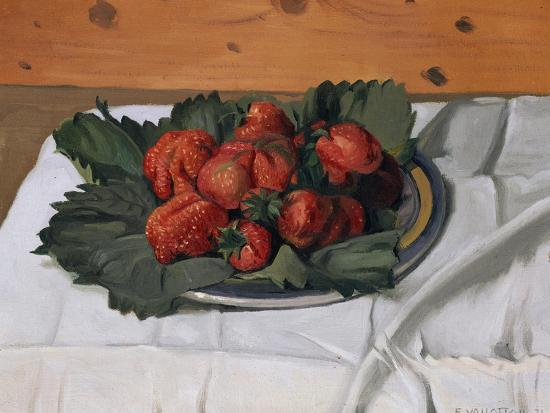 felix-vallotton-still-life-with-strawberries-1921