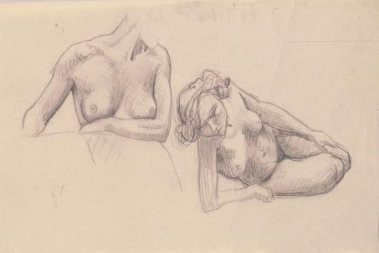 felix-vallotton-two-studies-of-female-nudes