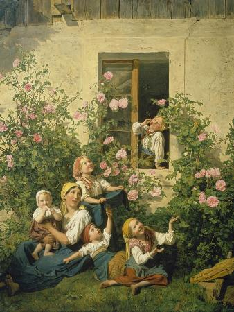ferdinand-georg-waldmueller-children-blowing-bubbles-1842