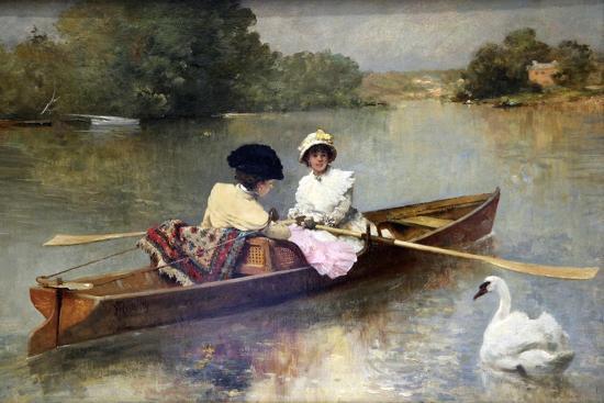 ferdinand-heilbuth-boating-on-the-seine-1875-1876