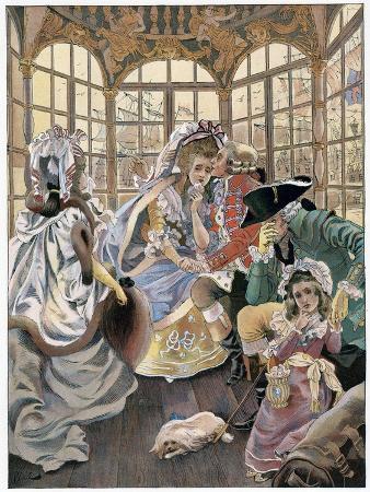 ferdinand-sigismund-bac-the-emigration-during-the-revolution-18th-century-c1880-1950