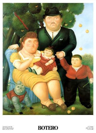 fernando-botero-family