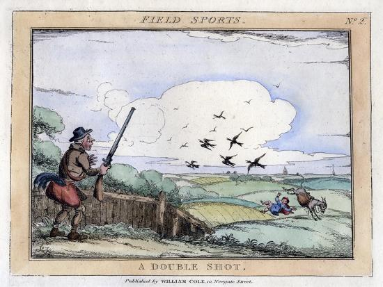 field-sports-a-double-shot-late-18th-early-19th-century