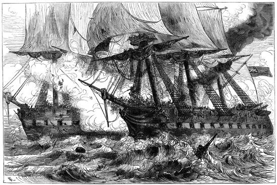fight-between-uss-chesapeake-and-hms-shannon-1813