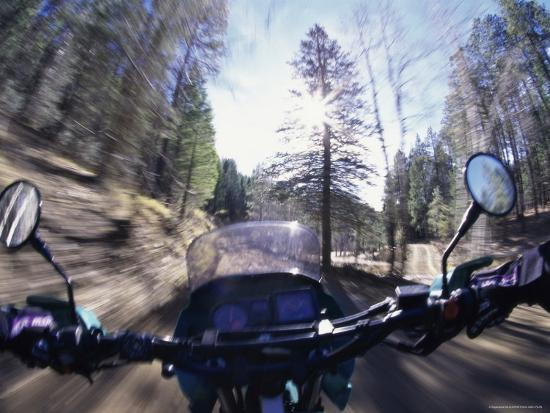 first-person-view-from-a-moving-motorcycle