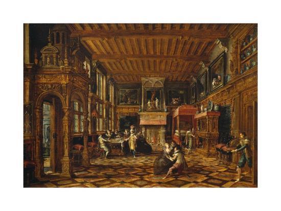 flemish-interior-paul-vredeman-de-vries-1567-after-1630