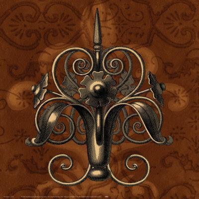 fleur de lys ii art print at. Black Bedroom Furniture Sets. Home Design Ideas