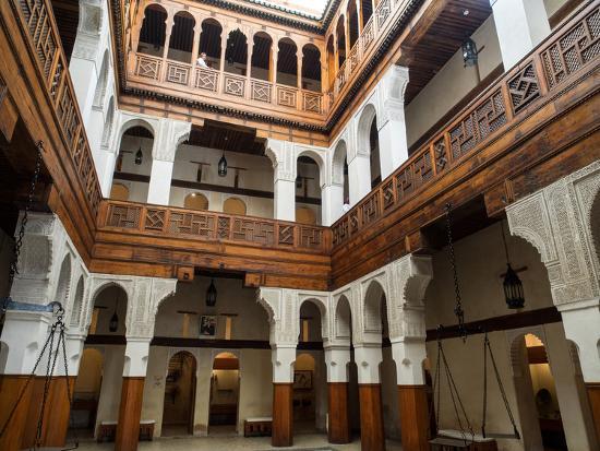 fondouk-el-nejjarine-built-as-caravanserai-fes-morocco