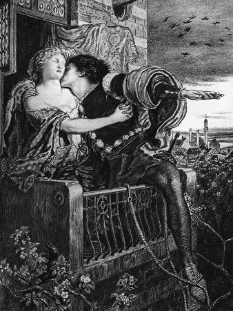 ford-madox-brown-romeo-and-juliet-late-19th-century
