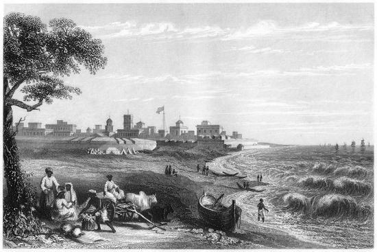 fort-george-madras-india-c1860