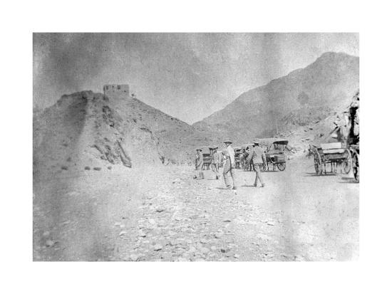 fort-in-the-khyber-pass-1917