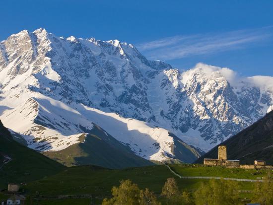 fortified-village-of-ushguli-svanetia-in-the-background-mount-shkhara-georgia