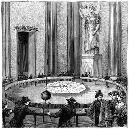 foucault-using-his-pendulum-to-demonstrate-the-rotation-of-the-earth-paris-1851