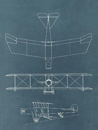 found-image-press-blueprint-for-early-biplane