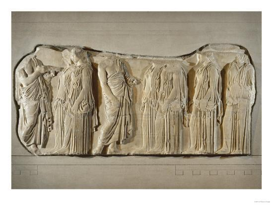 fragment-of-the-frieze-of-the-panatheneans-the-ergastine