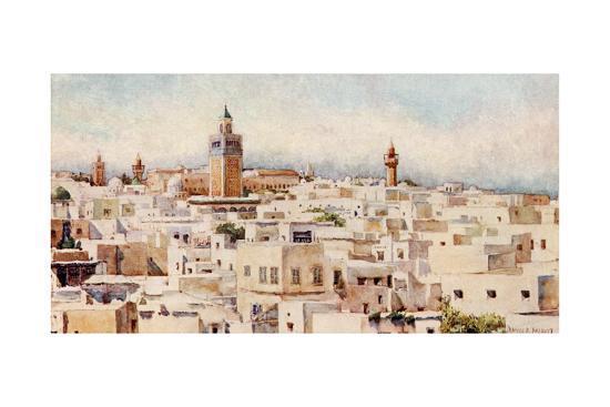 frances-e-nesbitt-tunisia-tunis-view-1912