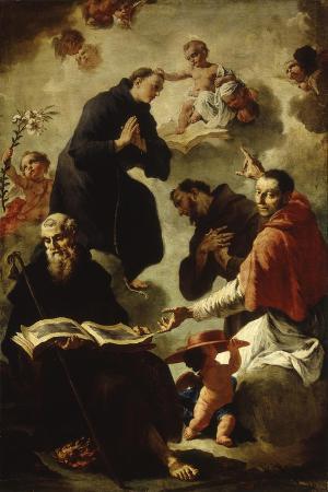 francesco-capella-baby-jesus-blessing-four-saints