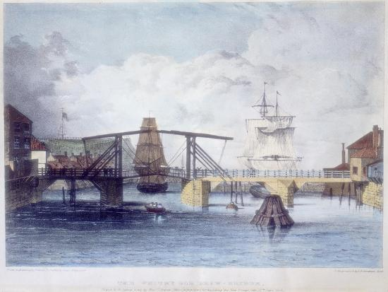 francis-pickersgill-whitby-harbour-yorkshire-at-the-mouth-of-the-river-esk-c1833