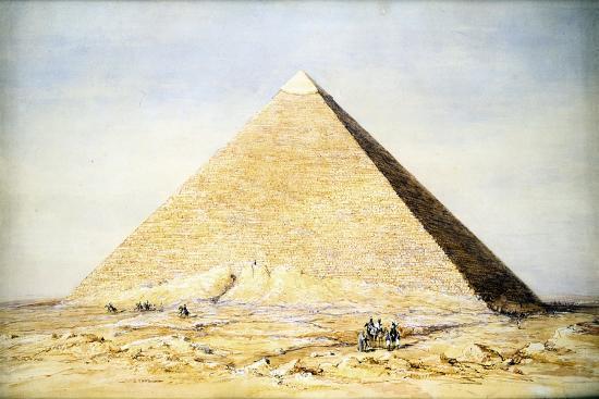 francis-vyvyan-jago-arundale-great-pyramid-of-cheops-at-giza-egypt-4th-dynasty-old-kingdom-26th-century-bc