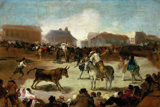 francisco-de-goya-bullfight-in-a-village-1815-1819