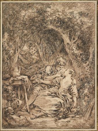 francois-boucher-lovers-surprised-annette-et-lubin-early-1760s