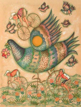 francoise-deberdt-gros-oiseau-a-velo