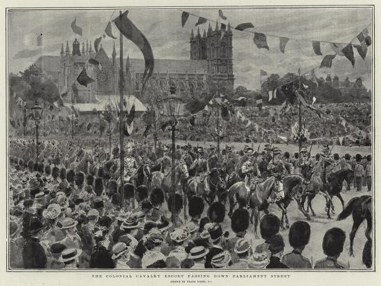 frank-dadd-the-colonial-cavalry-escort-passing-down-parliament-street