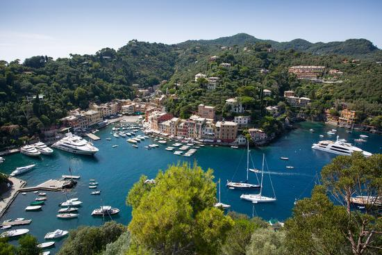 frank-fell-view-of-harbour-from-castle-portofino-genova-genoa-liguria-italy-europe