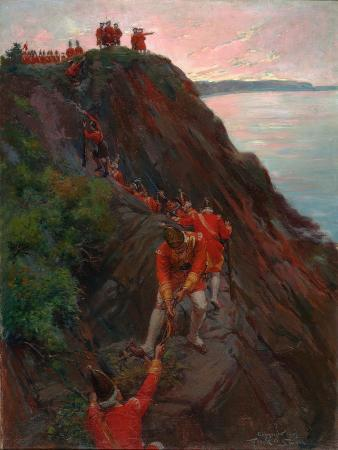 frank-otis-small-english-soldiers-scaling-the-heights-of-abraham-in-1759-1903